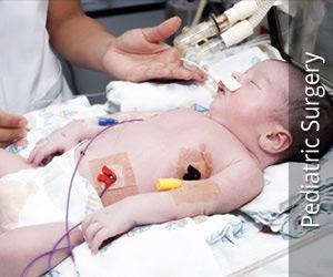 पीडिऐट्रीक सर्जरी (बच्चों की से संबंधित शल्य चिकित्सा)